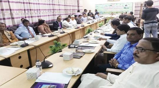 ''জেলা ব্রান্ডিং বিষয়ক কর্মশালা''-এ রংপুর চেম্বারের সভাপতি মোস্তফা সোহরাব চৌধুরী টিটুর অংশগ্রহণ